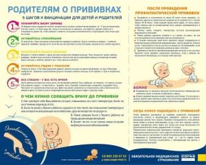 до и после прививки подготовка и как вести